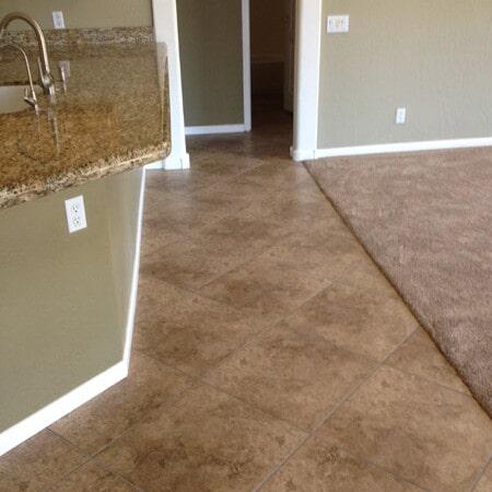 Carpet and tile flooring installation in Gilbert, AZ from Abel Carpet Tile & Wood