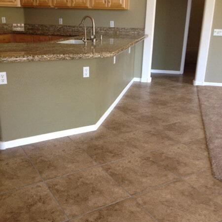 Travertine tile flooring in Chandler, AZ from Abel Carpet Tile & Wood