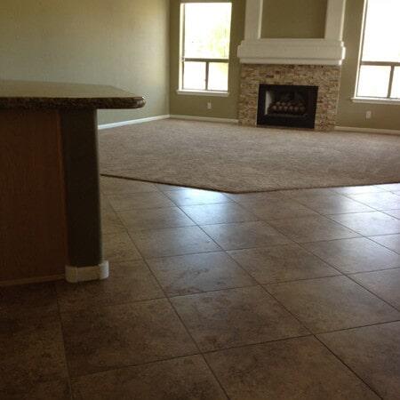 Tile kitchen flooring in Queen Creek, AZ from Abel Carpet Tile & Wood