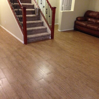 Classic wood look tile in Chandler, AZ from Abel Carpet Tile & Wood
