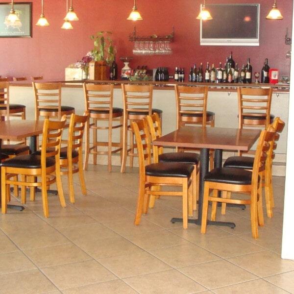 Restaurant tile flooring in Chandler, AZ from Abel Carpet Tile & Wood