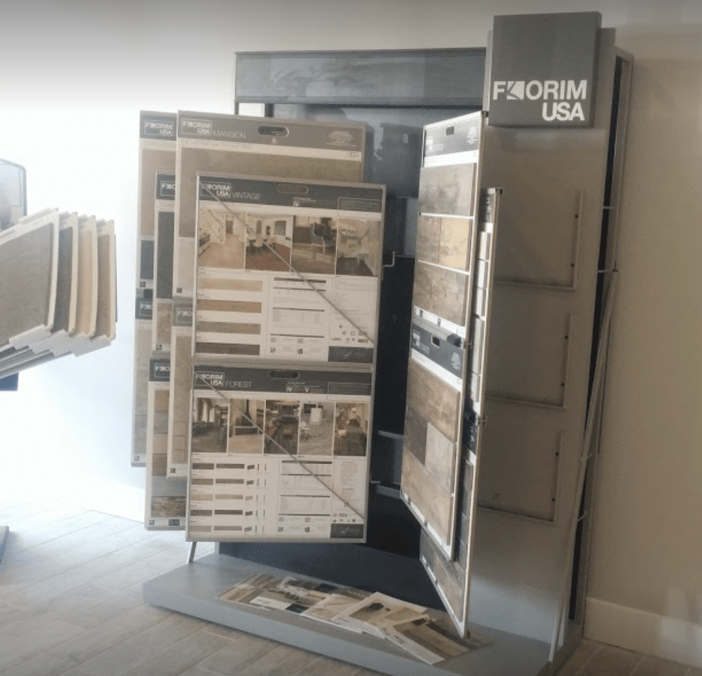Underwood Carpets & Floorcovering showroom in Park City, UT
