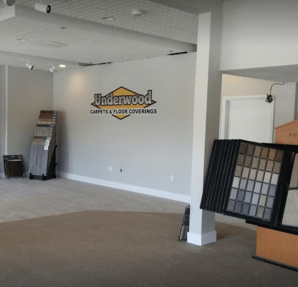 Underwood Carpets & Floorcovering showroom in Sandy, UT