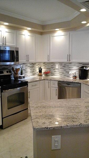 Kitchen remodel from Agler Kitchen, Bath & Floors in Port Saint Lucie, FL