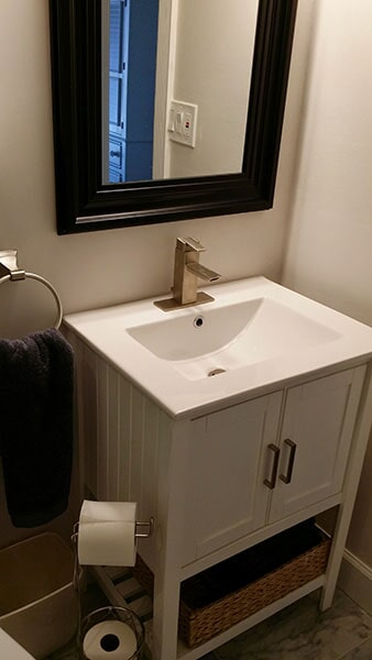 Bathroom remodel from Agler Kitchen, Bath & Floors in Jensen Beach, FL