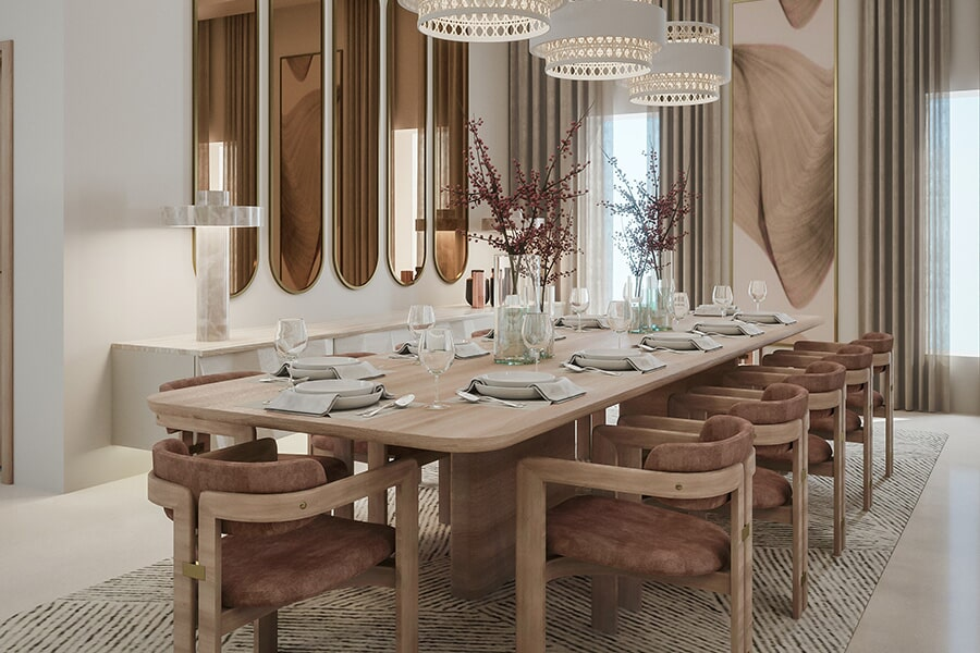 Beautiful dining in Delta, OH from Grieser Interiors