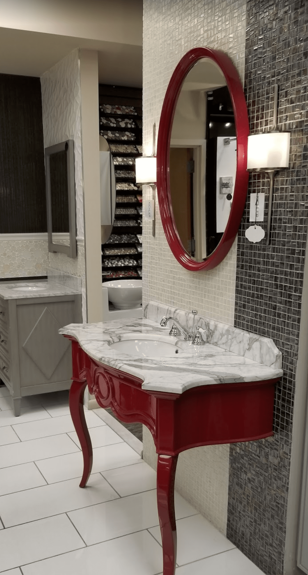 Gorgeous vanities for your Edison, NJ home from Aldo Design Group