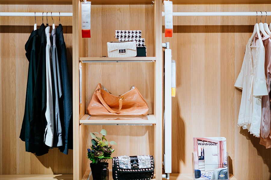 Closet in Woodbridge, NJ from Aldo Design Group