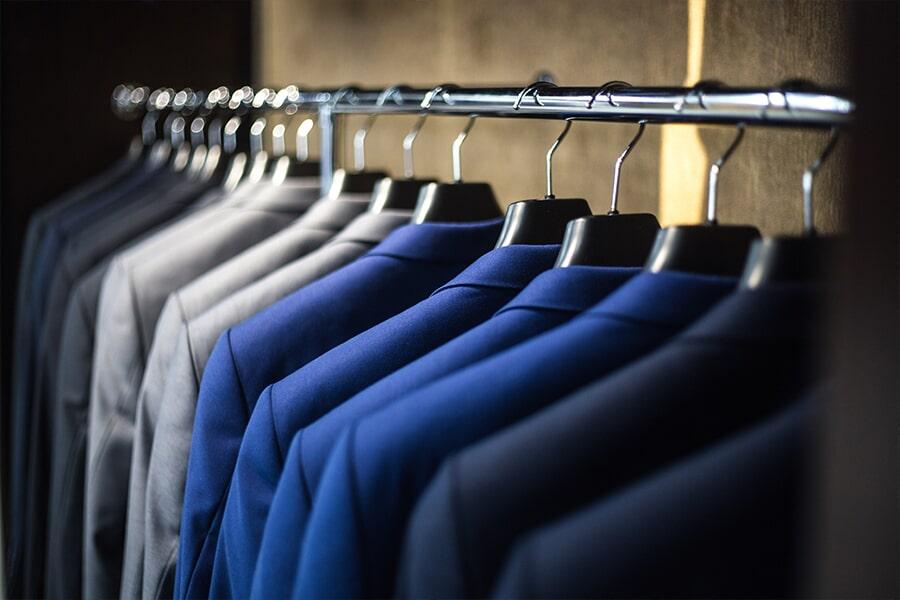 Organized closet in Edison, NJ from Aldo Design Group