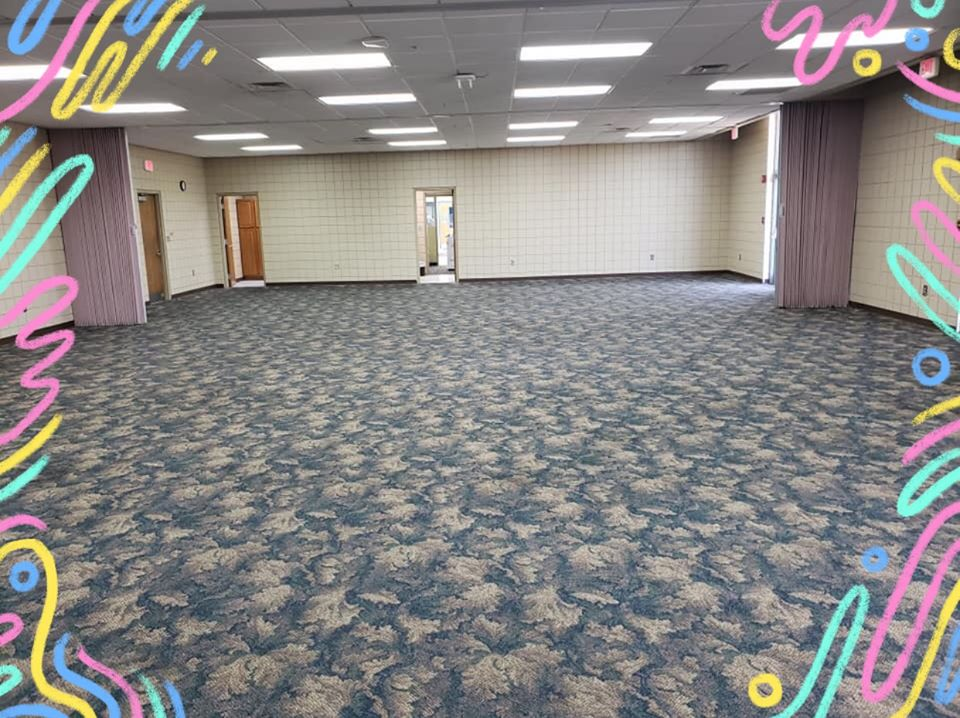Floral pattern commercial carpet in Mt. Juliet, TN from Absolute Flooring Inc