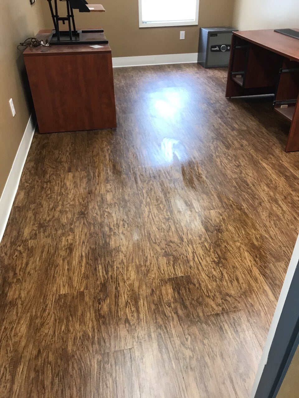 Modern wood look flooring in Nashville, TN from Absolute Flooring Inc