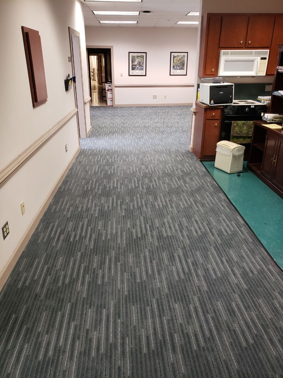 Textured commercial flooring in Gallatin, TN from Absolute Flooring Inc