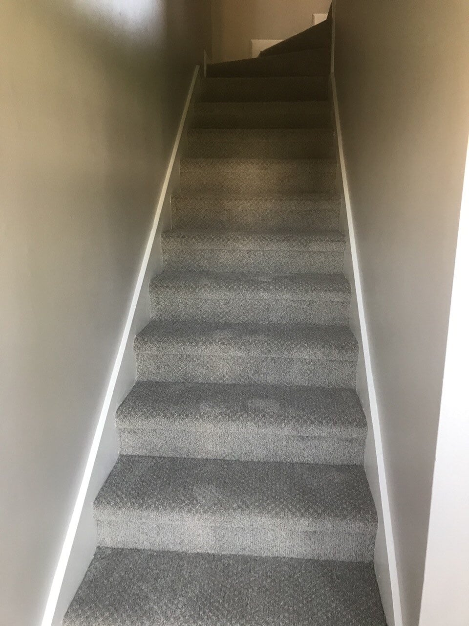Textured stair carpet in Nashville, TN from Absolute Flooring Inc