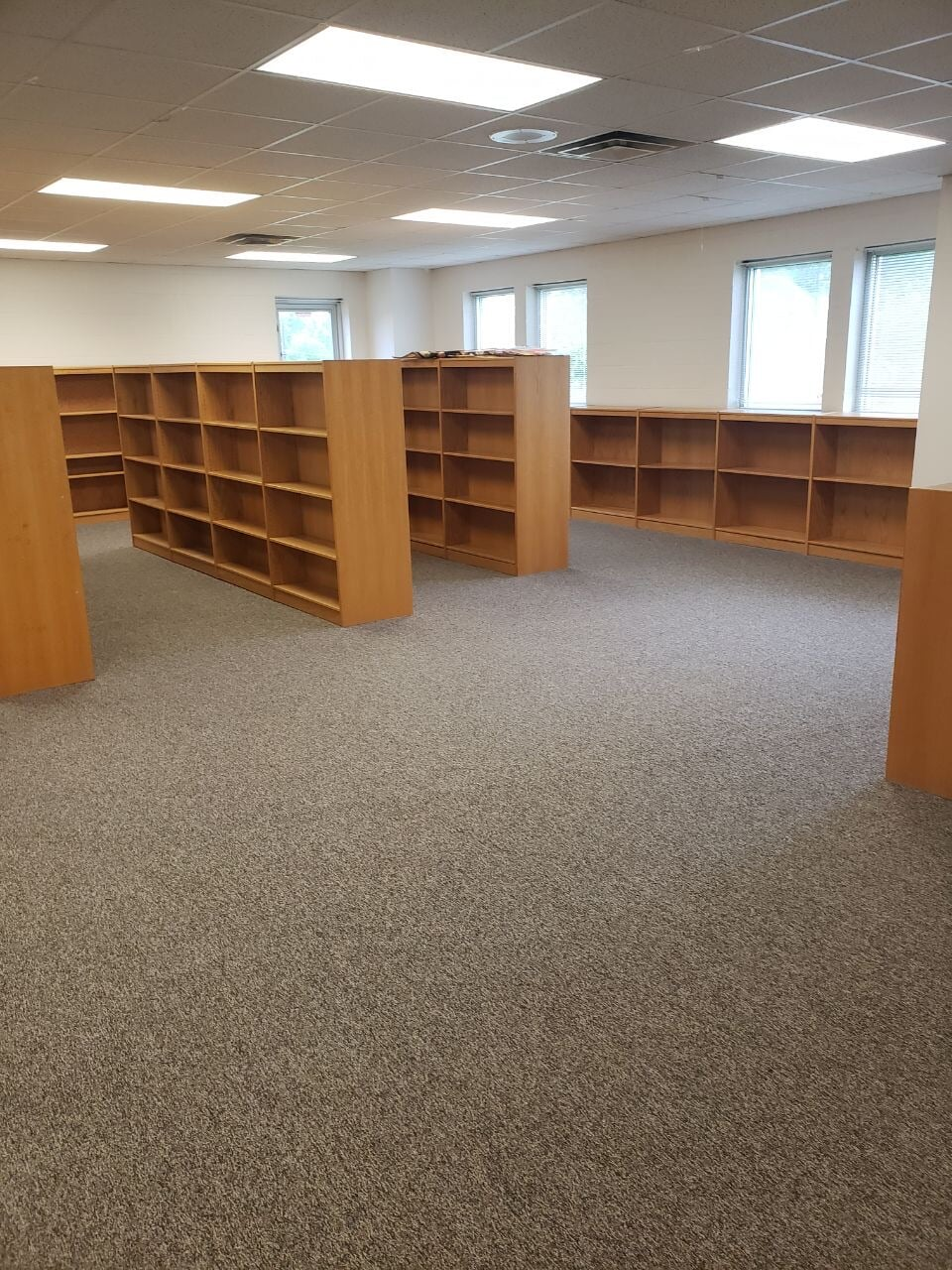 Library carpet flooring in Hendersonville, TN from Absolute Flooring Inc
