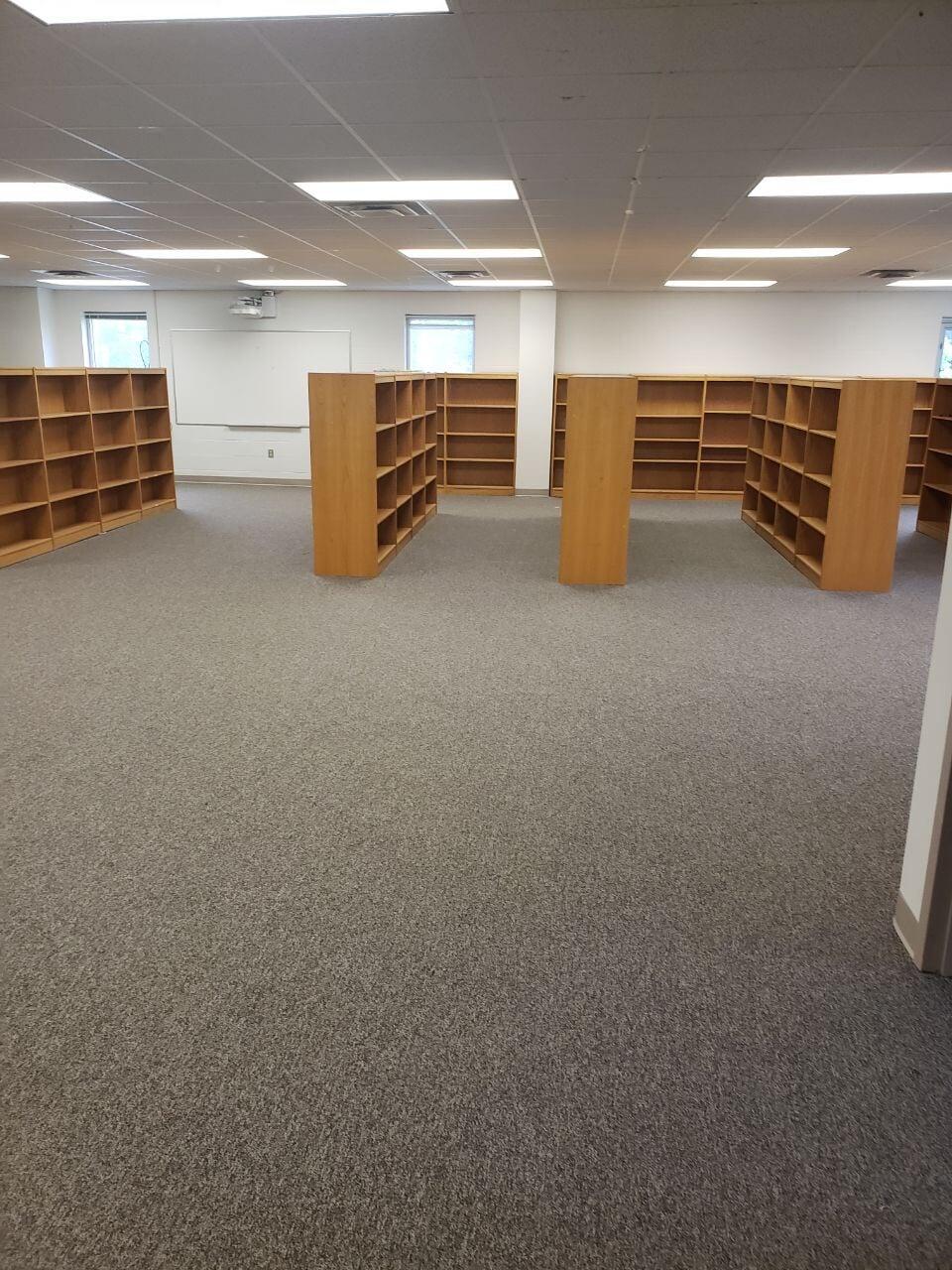 Library flooring installation in Gallatin, TN from Absolute Flooring Inc