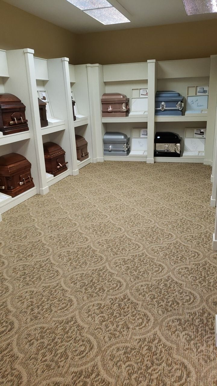 Commercial patterned carpet in Lebanon, TN from Absolute Flooring Inc
