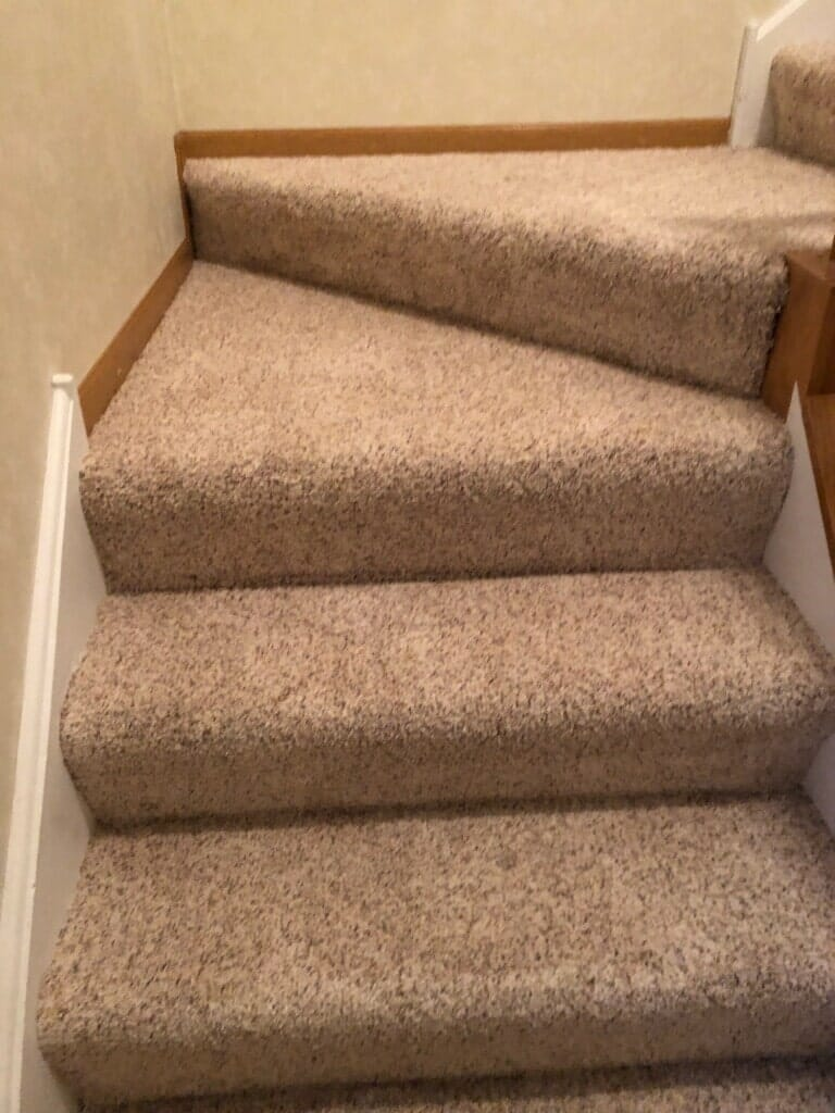 Classic stair carpet in Lockport, IL from Marchio Tile & Carpet Inc.