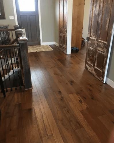 Hardwood flooring fromLAACK FLOORING INNOVATIONS in Greenville, IL