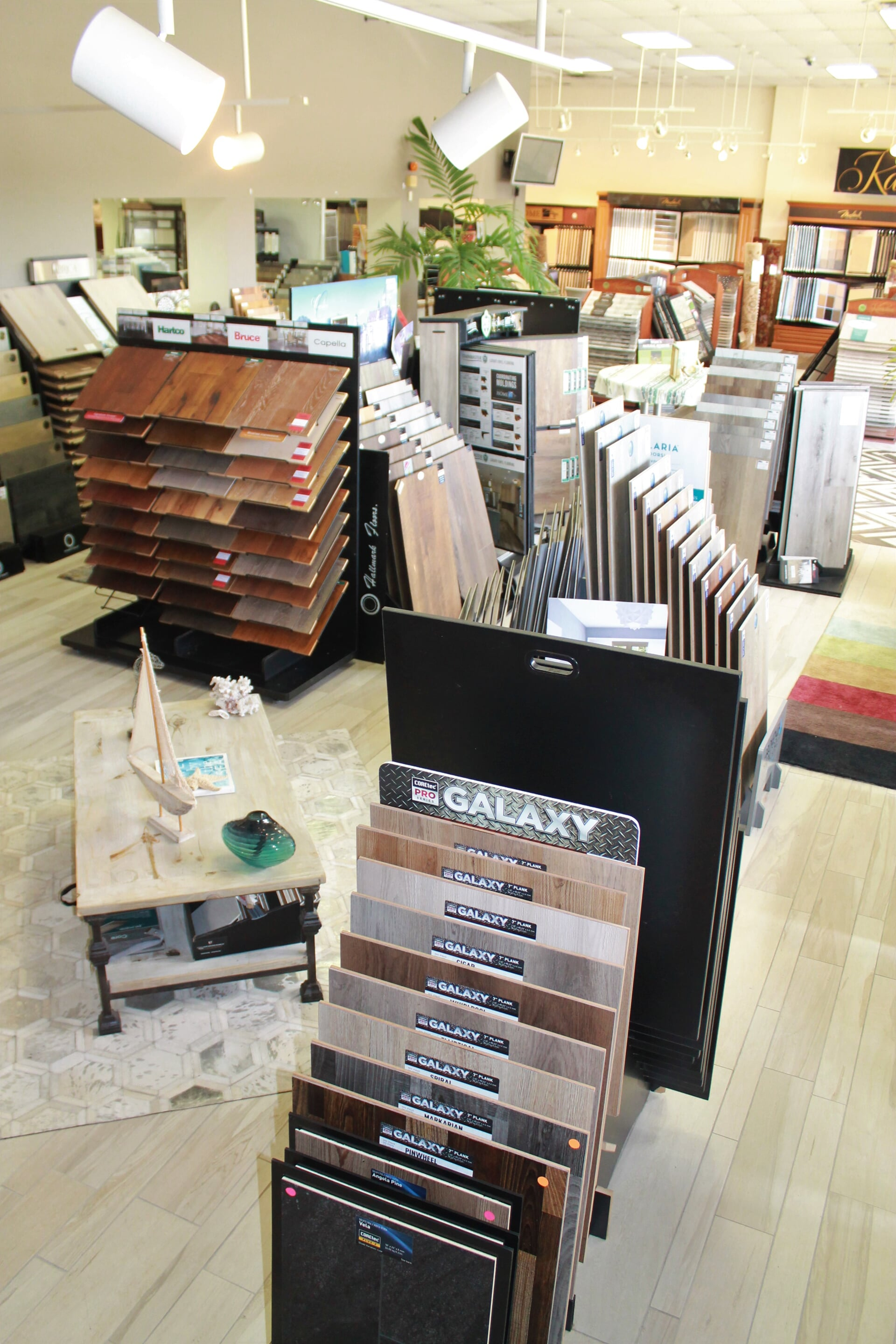 COREtec hardwood flooring for your St. Augustine, FL home from Carpet Image Services Inc.