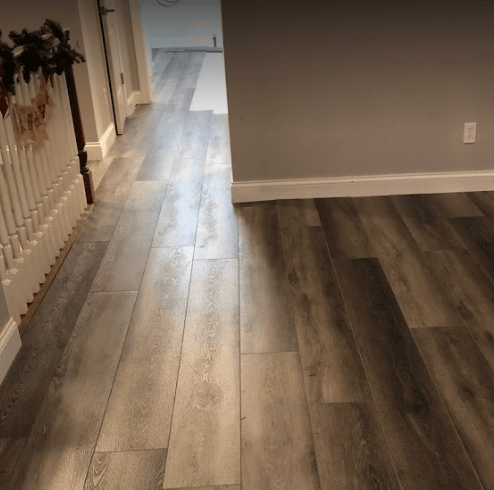 Vinyl plank flooring in Cleveland, OH from The Floor King