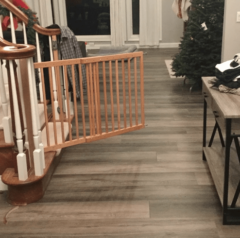 Modern flooring installation in Strongsville, OH from The Floor King