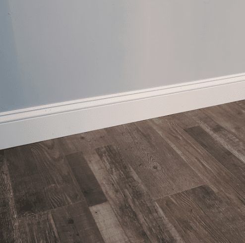 Flooring and baseboard installation in Lakewood, OH from The Floor King