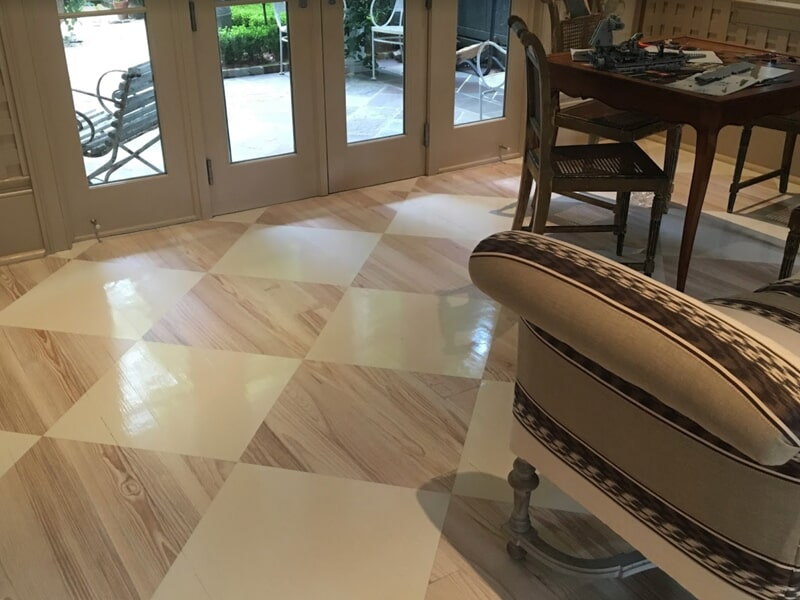 Custom wood floors in New Orleans, LA from Ron-Del Flooring Services Inc.