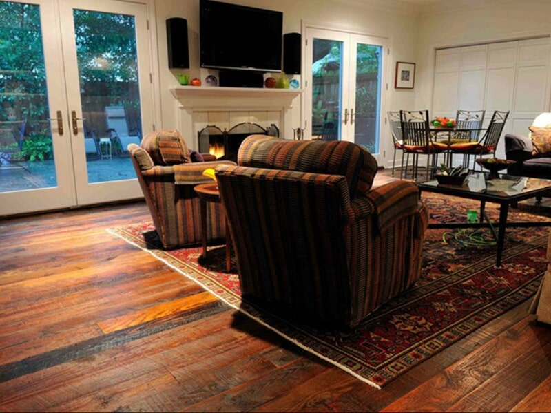 Gorgeous hardwood in Harahan, LA from Ron-Del Flooring Services Inc.