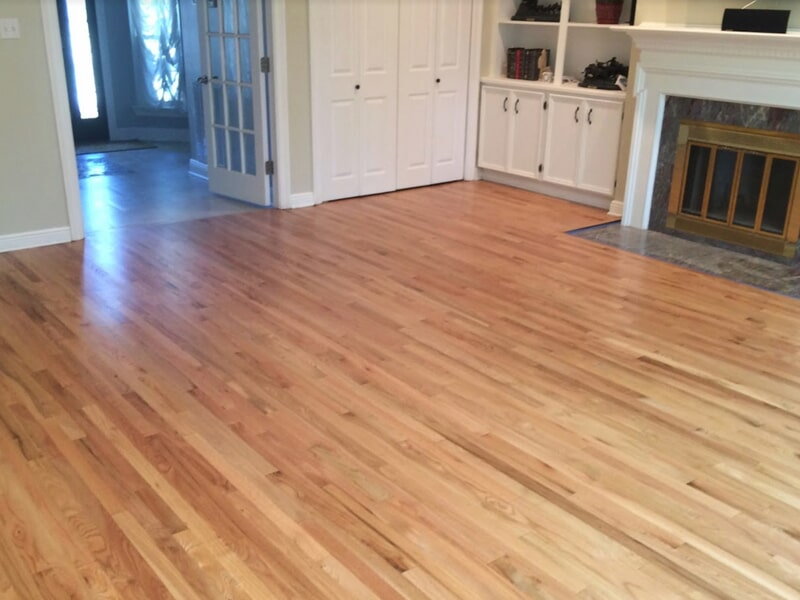 Classic wood flooring install in Metairie, LA from Ron-Del Flooring Services Inc.