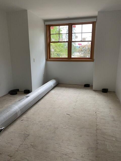 Carpet installation in progress from Emerald Installation