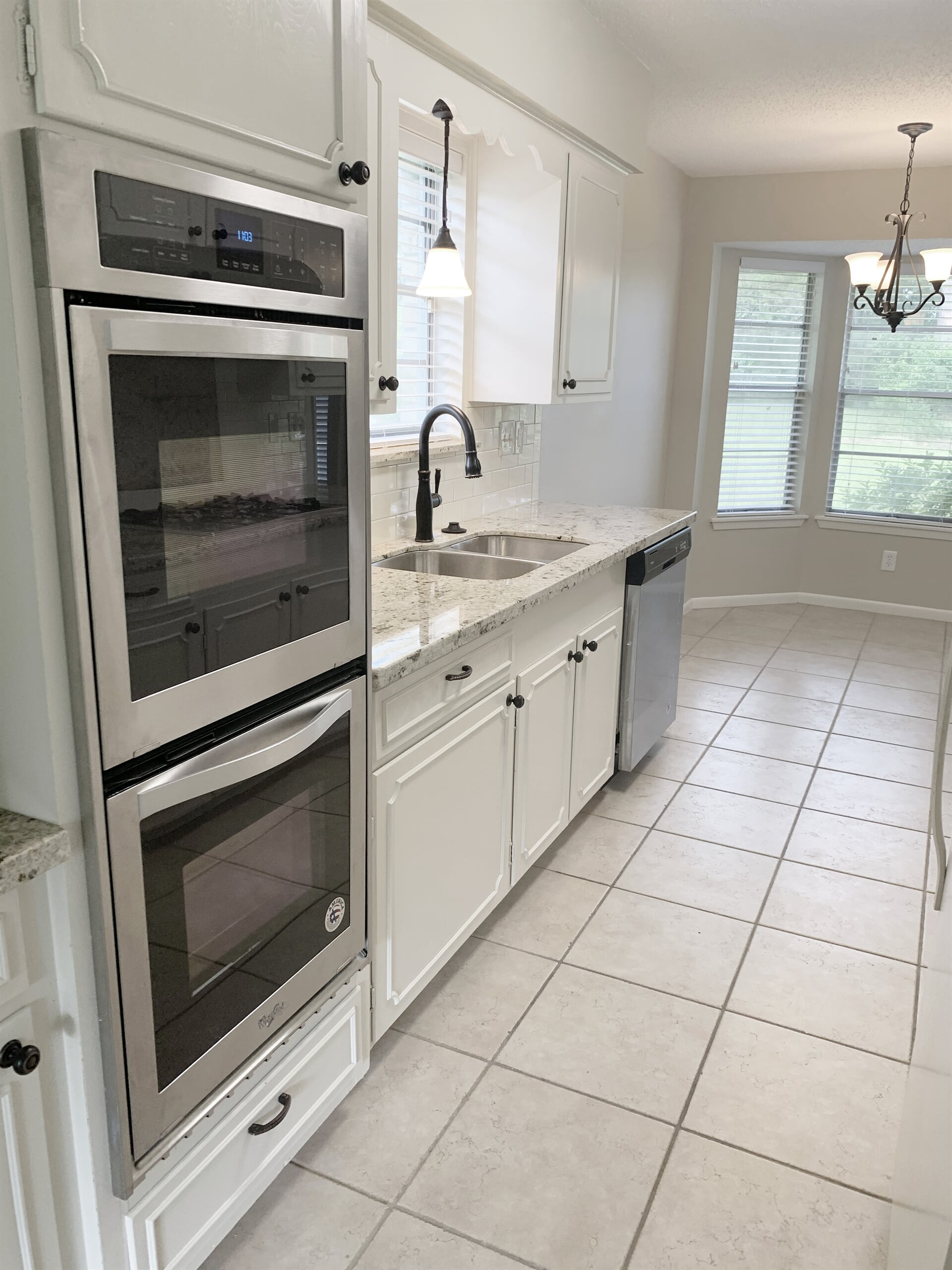 Kitchen renovation in Port Arthur, TX from Odile's Fine Flooring & Design