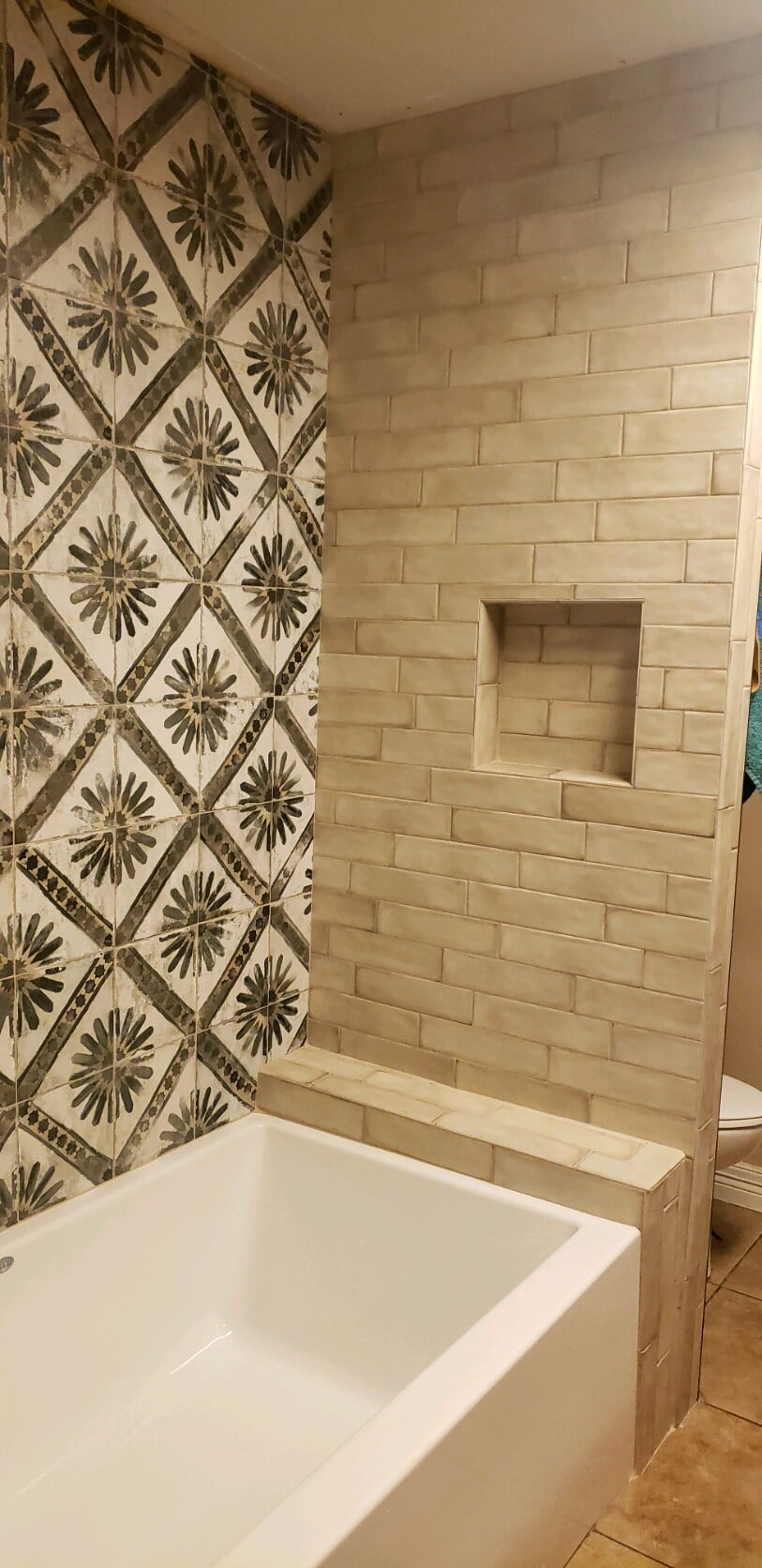 Rustic subway tile in Port Arthur, TX from Odile's Fine Flooring & Design