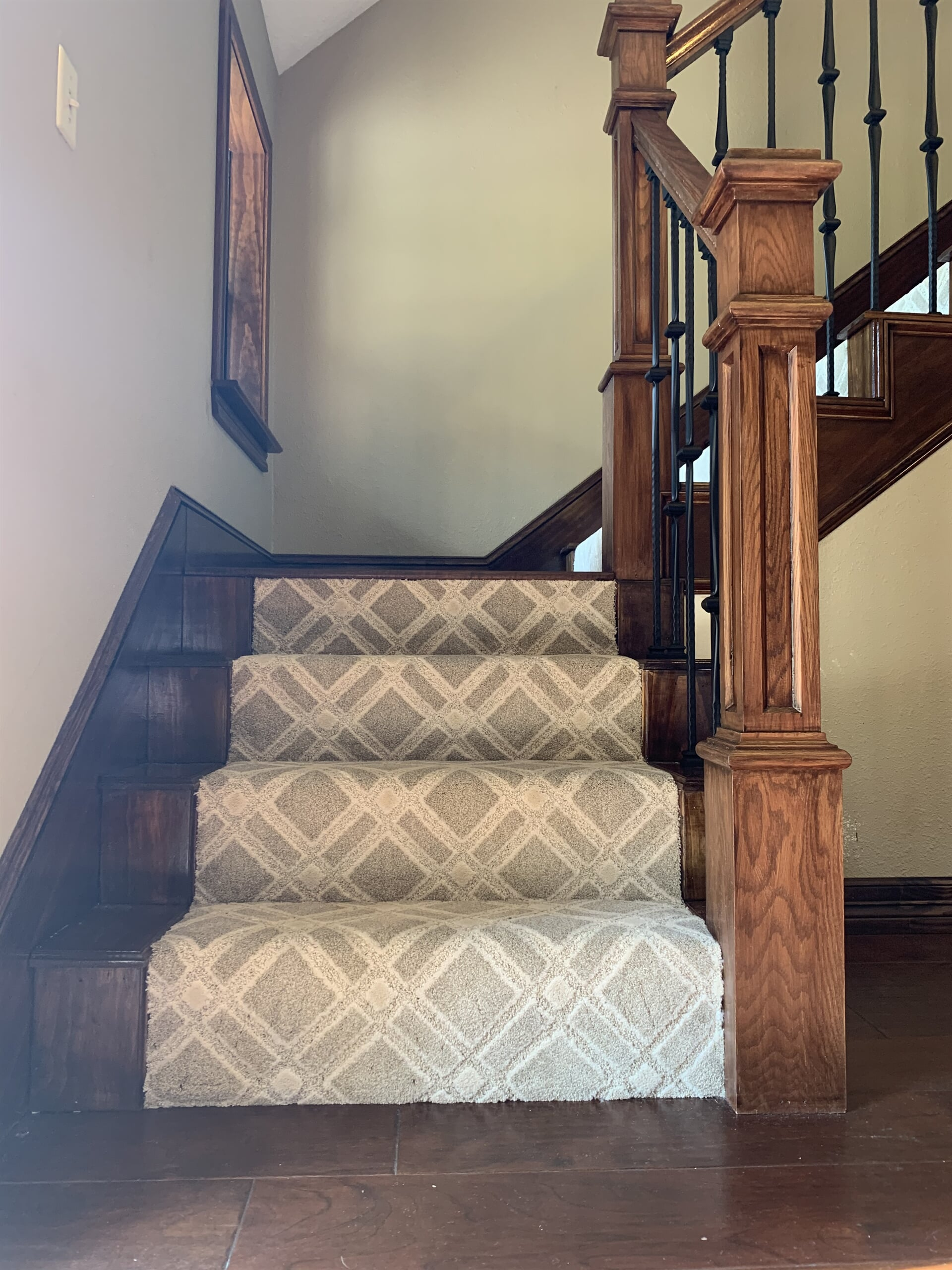 Carpeted stairs in Port Arthur, TX from Odile's Fine Flooring & Design