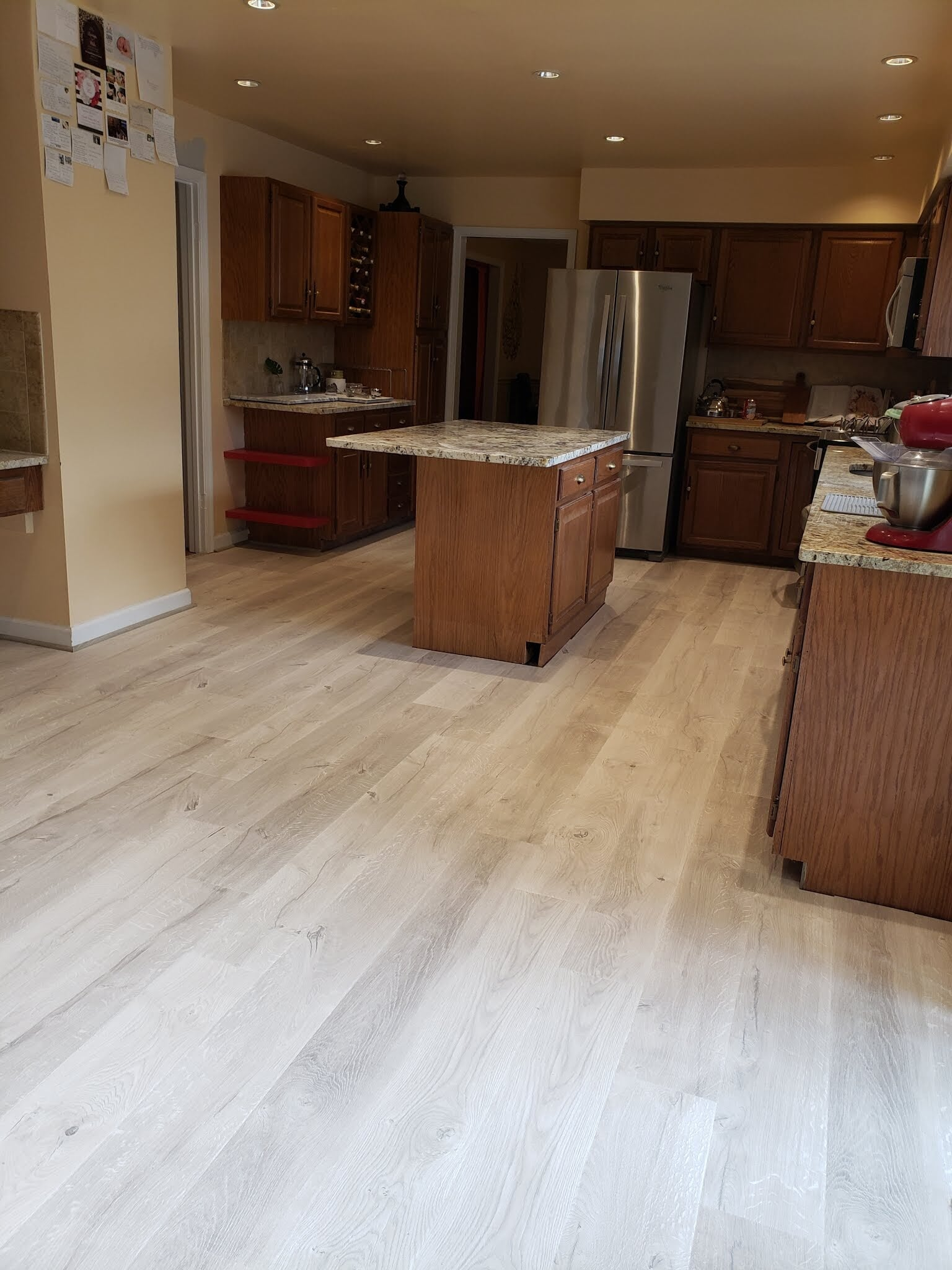 Light tone wood look floors in Montgomery County, MD from Andonian's Carpet Warehouse