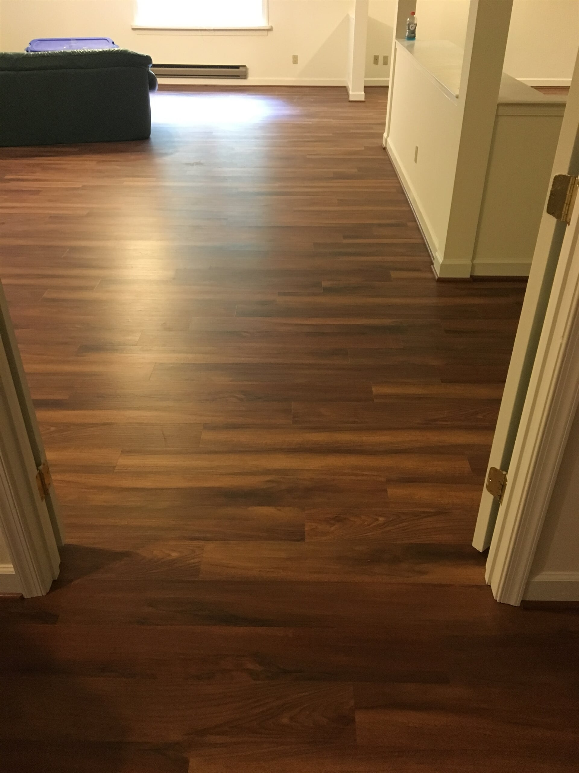 Multi tone hardwood flooring in Annapolis, MD from Andonian's Carpet Warehouse