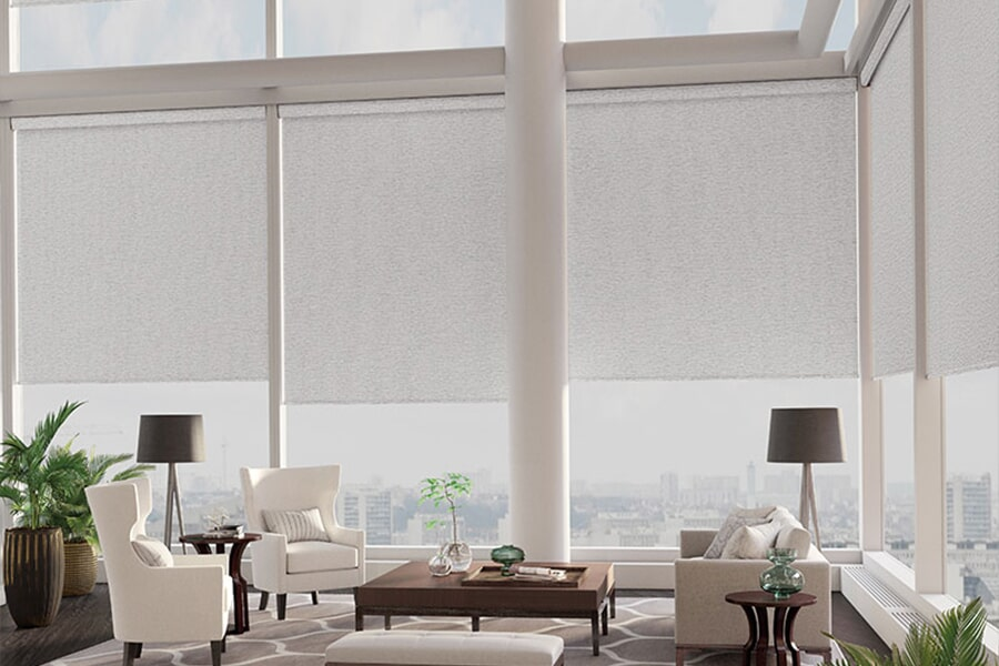 Large window treatments in Sulphur, LA from Odile's Fine Flooring & Design