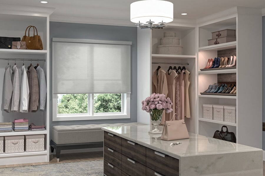 Modern window treatment solutions in Vidor, TX from Odile's Fine Flooring & Design