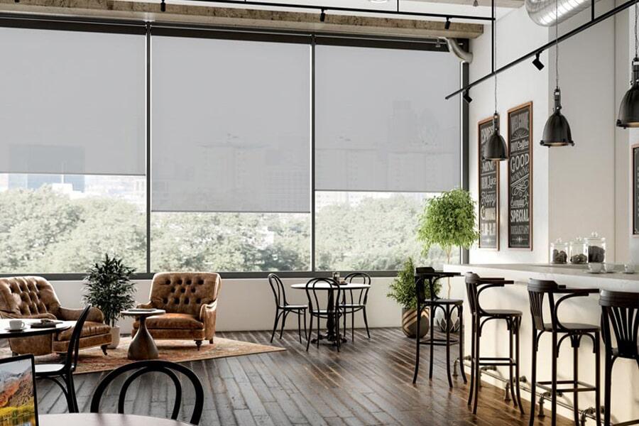 Modern window shades in Port Arthur, TX from Odile's Fine Flooring & Design
