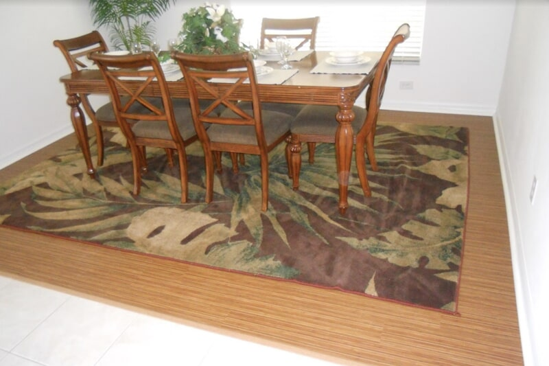 Remodeled dining space in St. Cloud, FL from The Carpet and Tile Center Inc.
