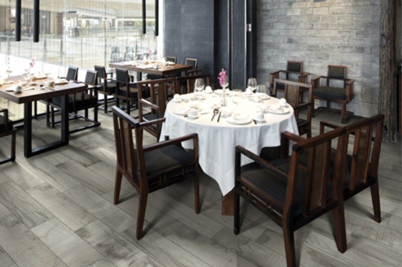 Restaurant flooring in Hunters Creek, FL from The Carpet and Tile Center Inc.