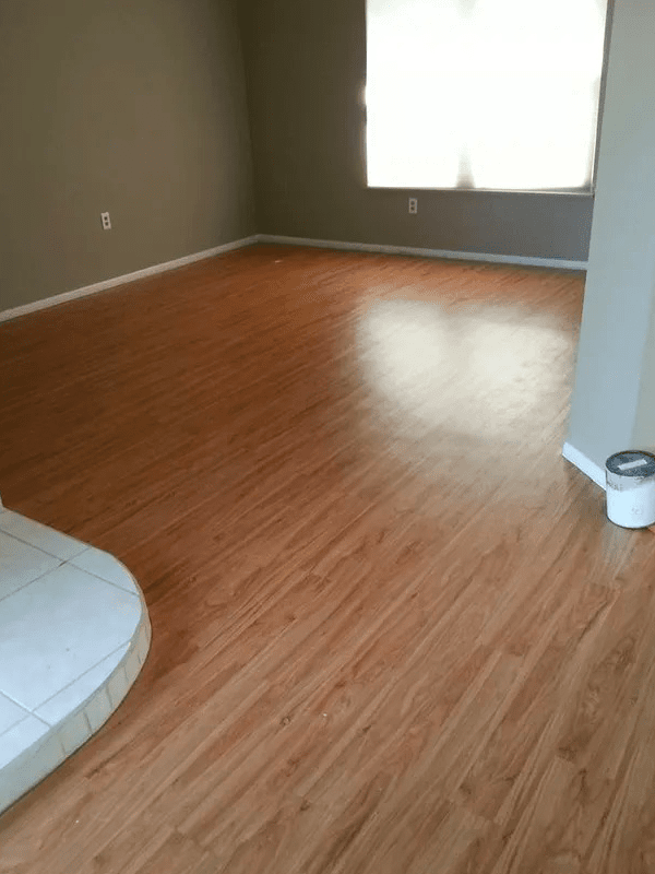 Bedroom flooring installation in Hunters Creek, FL from The Carpet and Tile Center Inc.