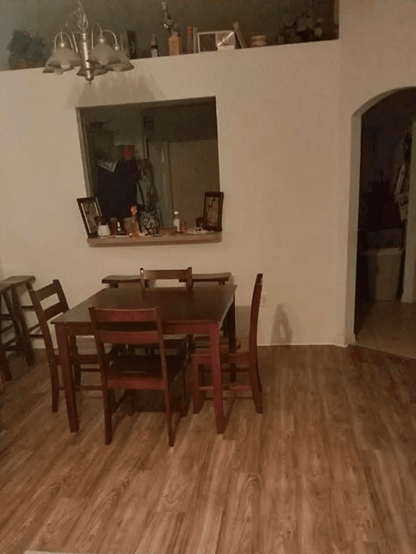 Dining room flooring installation in Kissimmee, FL from The Carpet and Tile Center Inc.