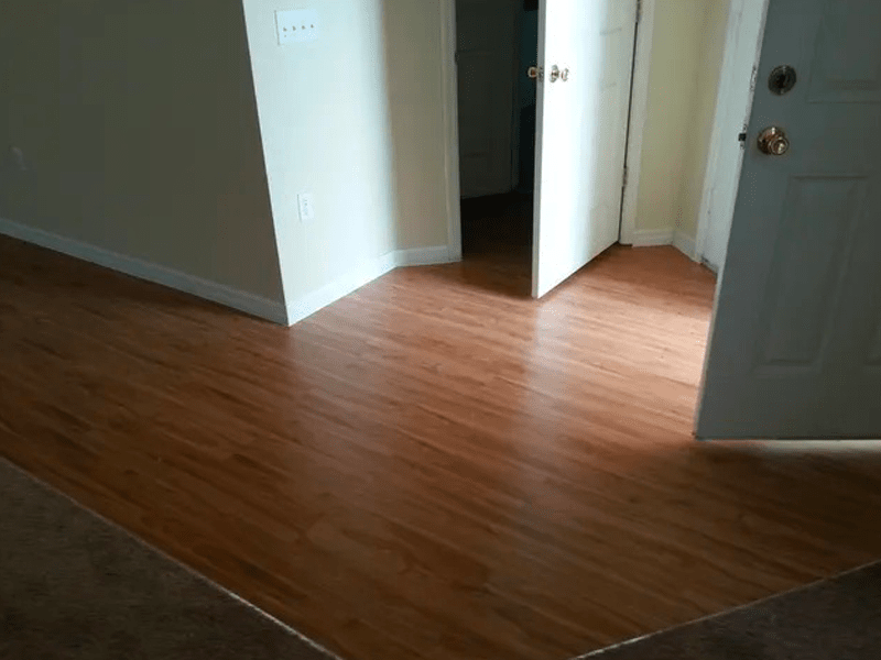 Multi-surface flooring installation in Kissimmee, FL from The Carpet and Tile Center Inc.