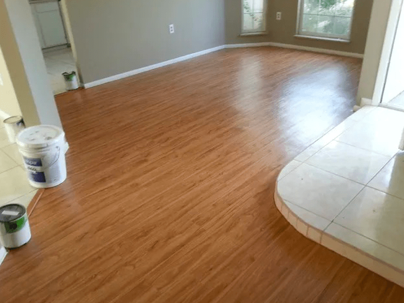 New hardwood floors in Buena Ventura Lakes, FL from The Carpet and Tile Center Inc.