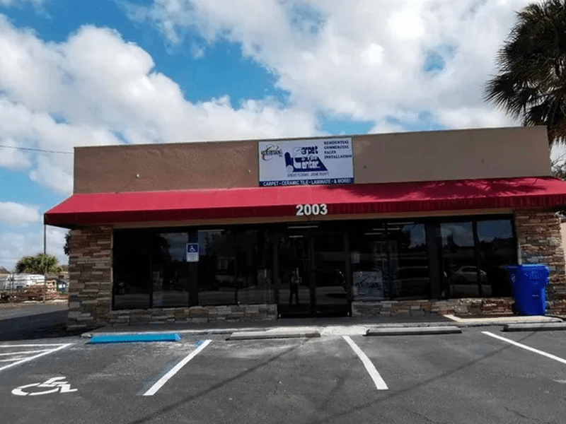 The The Carpet and Tile Center Inc. storefront in Kissimmee, FL