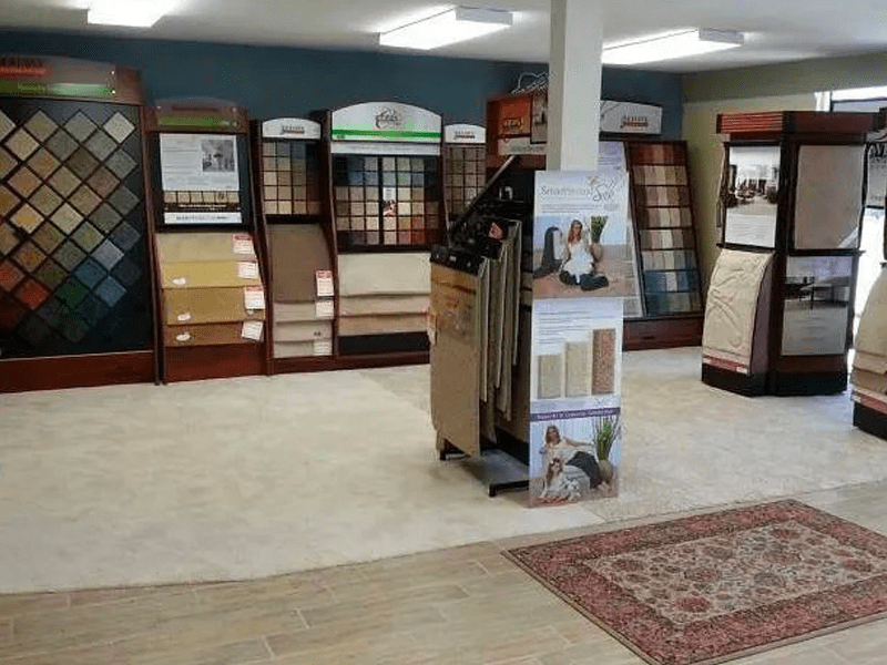 Walk through the The Carpet and Tile Center Inc. showroom in [[cms:city1]