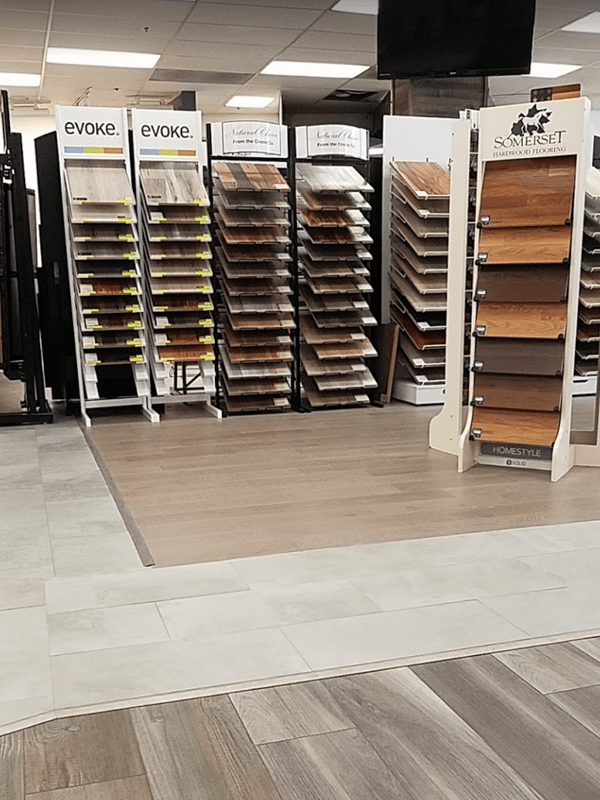 Wood flooring from the Brothers Flooring showroom in Cheney, WA