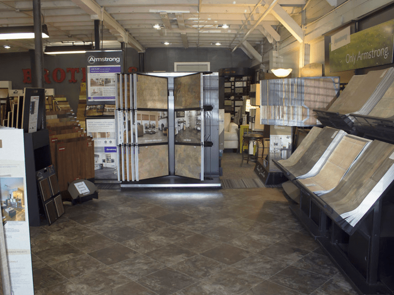 Tile flooring from the Brothers Flooring showroom in Airway Heights, WA