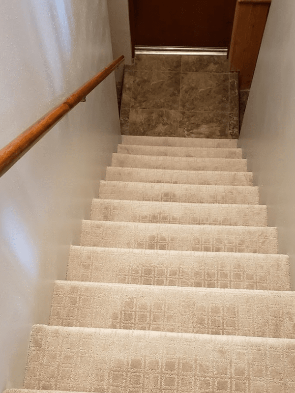 Luxury vinyl stairs from Brothers Flooring in Post Falls, ID