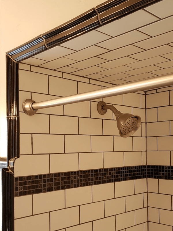 Shower tile from Brothers Flooring in Liberty Lake, ID